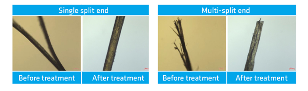 Solvay Polycare® Split Therapy - Single and multi-split end reparation