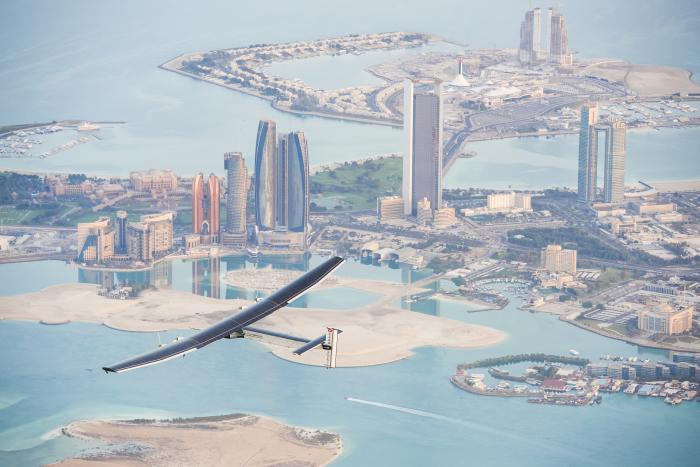 Test Flight of Solar Impulse 2