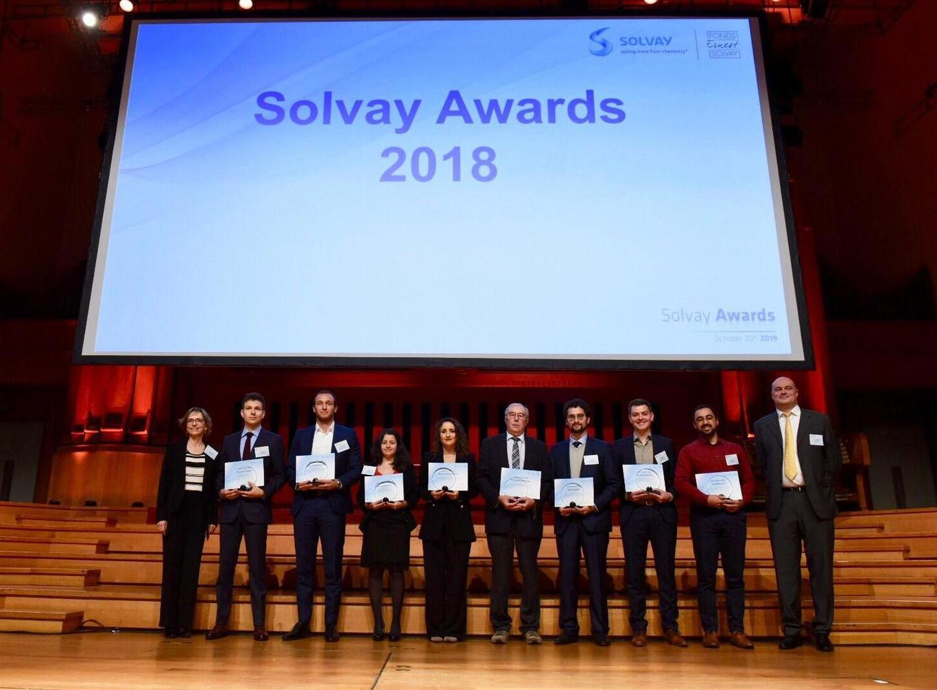 Solvay Awards 2018