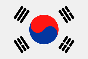 Flag South Korea