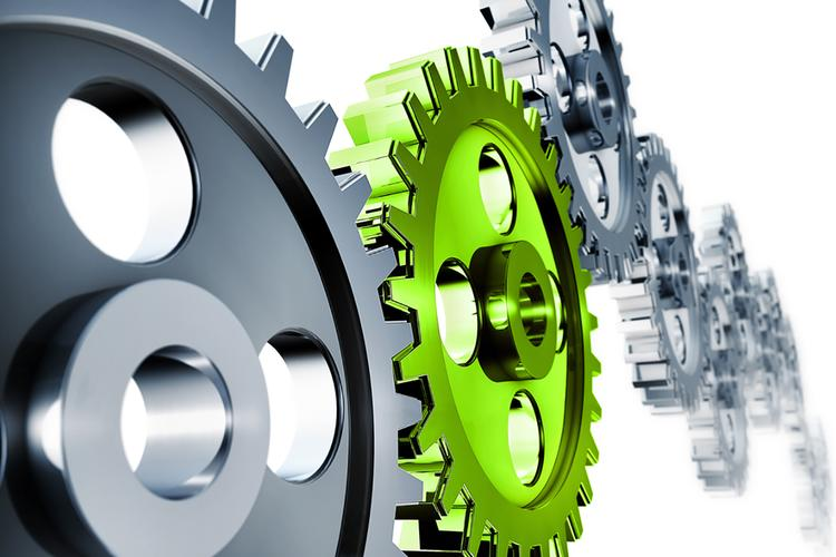 grey-and-green-gears